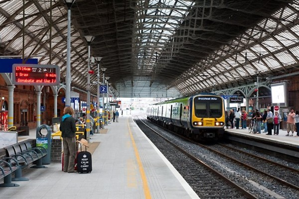 Cyc-Lok at the Pearse Street Station