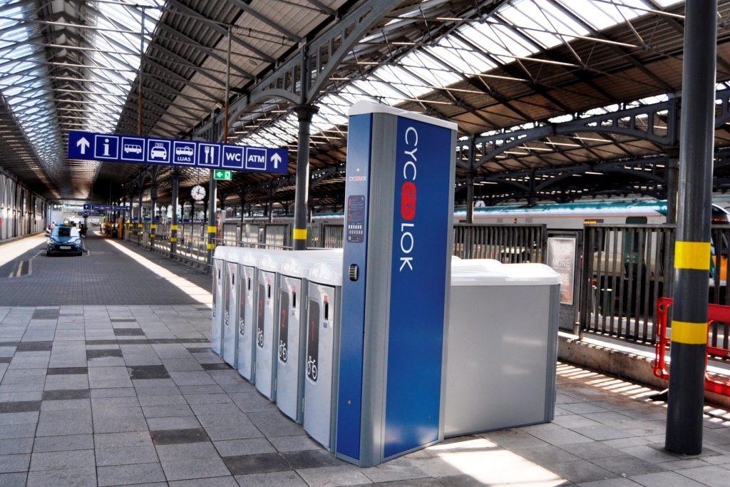 Cyc-Lok at Heuston Station, Dublin